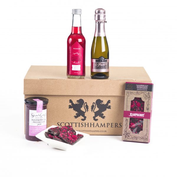 Small Food Hamper With Prosecco Jam