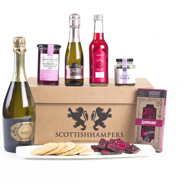 Luxury Scottish Hamper - With Prosecco