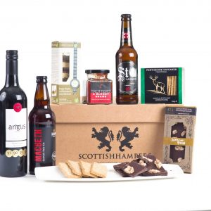 Luxury Celebration Hamper With Wine And Ale