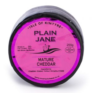 Inverloch - Isle of Kintyre - Plain Jane Cheese
