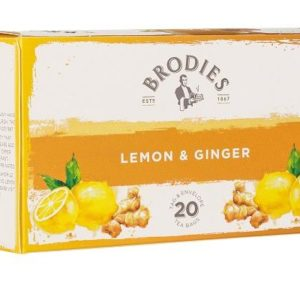 Brodies Lemon & Ginger Tea