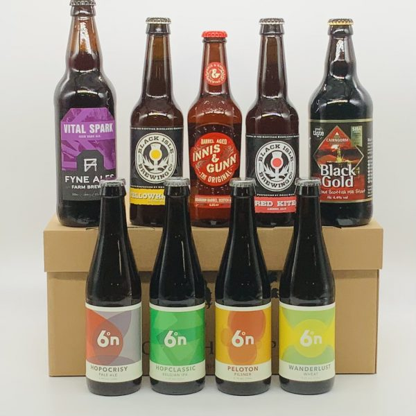 Selection of Scottish Beers