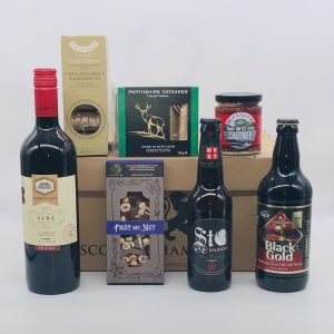 Luxury Scottish Hamper with Beer & Wine