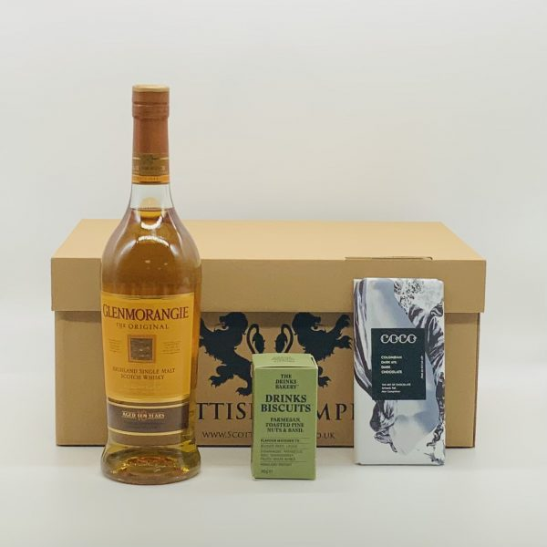 Luxury Scottish Hamper with Single Malt