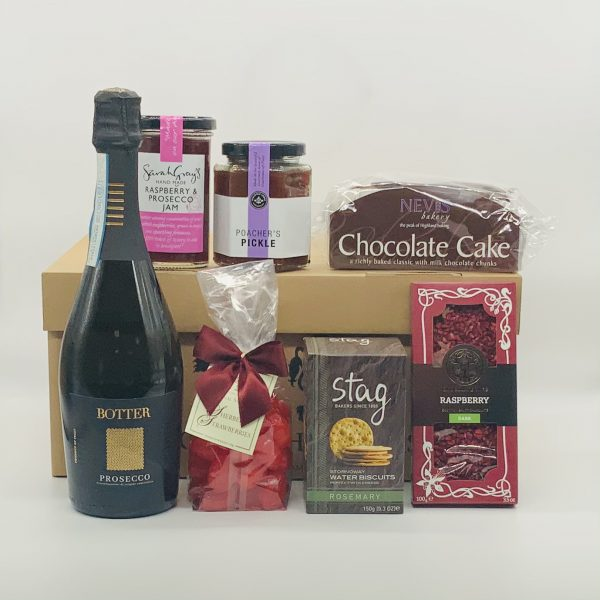 Luxury Scottish Hamper with Prosecco