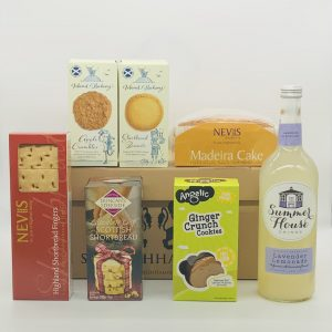 Luxury Scottish Hamper with Shortbread and Biscuits