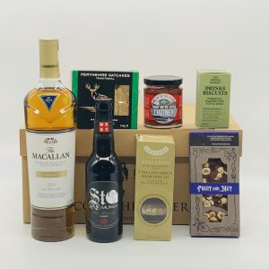 Luxury Scottish Hamper with Single Malt, and Treats
